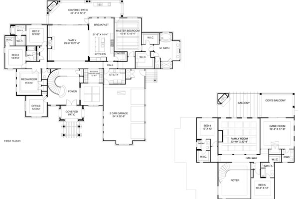 17500 floor plan bird view